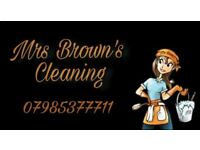 Mrs browns cleaning service