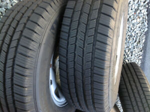 LT245/75R16 Michelin Winter Tires & Rims