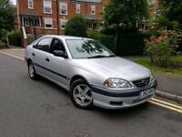 2002/52 REG TOYOTA AVENSIS 1.8 VERMONT ** 1 OWNER + F/T/S/H £995
