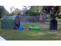 Dog Kennel / Small Animal Run / rabbit, chicken / Solway Recycled Monster Dog Kennel