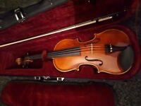 Piacennza violin hidersine cost ovef £200 accept £100 tel 07904337213