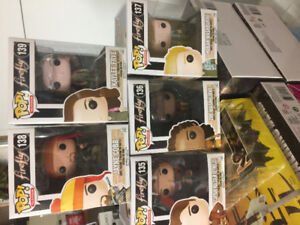 5 Funko Pops Firefly 135 to 139 New in Box