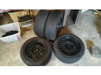 "BBS BMW Black Alloy Wheels 16"""