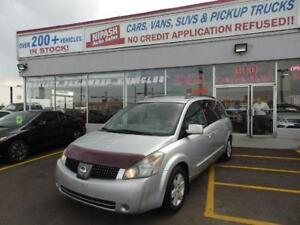 2004 Nissan Quest SL 7 PASSENGER (IT'S BEING SOLD AS IS )