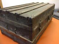 Antique Wooden Trunk/Chest