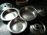 3 stainless steel food storage container s