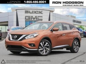 2015 Nissan Murano Platinum ONE OWNER TRADE