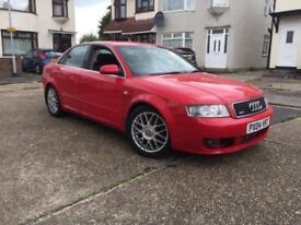 Audi A4 S Line 3.0 turbo Quattro 220BHP manual petrol 4DR salon 91k Miles only clean condition