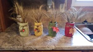 Fall Mason Jar Decorations