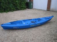 Blue Ocean Kayak Venus 11 Lightweight Sit on Top Kayak designed for small/medium woman or child