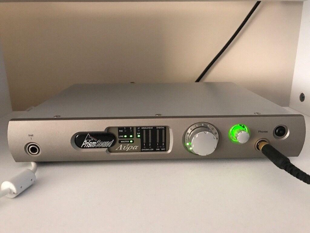 Prism Sound Lyra 1 Audio Interface (Not Apogee, Rme, Universal Audio)
