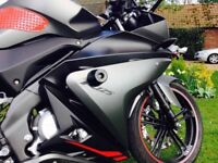 Motorbike Yamaha Yzfr125