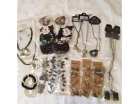 Job Lot New Costume Jewellery 32 Pieces