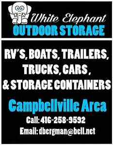 OUTDOOR STORAGE and 40' CONTAINERS