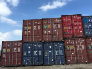 20' & 40' USED Shipping/Storage Containers for SALE!