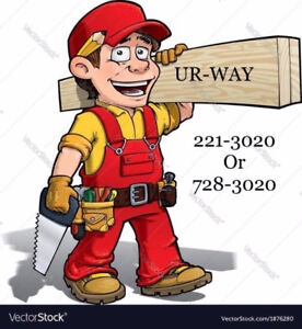 LOOK UR-WAY has FREE ESTIMATES