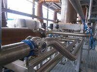 Pipefitter - Welder /Tig Welding / Process Pipefiiting / Dairy /Brewery specialist