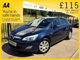 VAUXHALL ASTRA 1.4 EXCLUSIV 5d 98 BHP Apply for finance Online to (blue) 2012