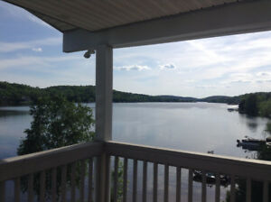 Lakefront home for rent with gorgeous views