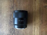 Sony FE 55mm f/1.8 ZA Zeiss Sonnar T* LENS -