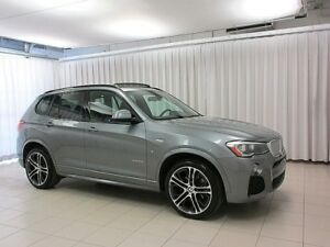 2015 BMW X3 28i x-DRIVE M SPORT w/ PREMIUM ENHANCED & M PERFOR