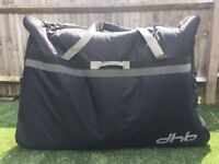 DHB soft wheeled bike bag for sale!