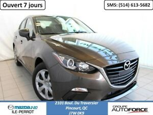 2014 Mazda Mazda3 GX AUTOMATIC JAMAIS ACCIDENTE SKYACTIVE