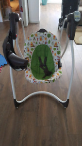 Graco swing almost new