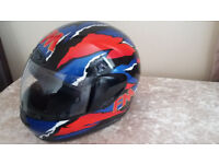 Used but very good condition. FM Motorcycle helmet XS/54. £30.