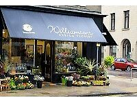 Williamson Design Florist Perth are looking for a part time florist assistant