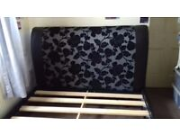 Faux Leather Double Bed For Sale BARGAIN