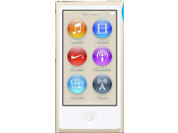 iPod Nano New Gold 16GB , full Apple warranty upon registering