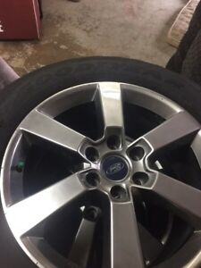 2016 Ford f 150 wheels and tires