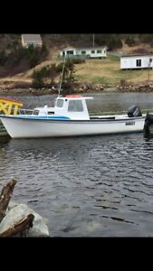 For sale 23ft Sea Runner (with new 115hp Mercury and trailer)