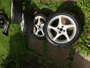 Summer and winter tires/ Rims - Honda Civic