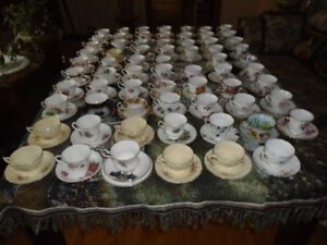 100 + Sets of English cup and saucers