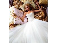 Designer Justin Alexander princess wedding dress