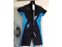 Childrens Wetsuit. Age 7-8. BNWT