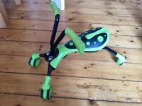 Green Scramble Bug