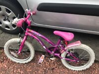 Girls pop star bike pink and purple