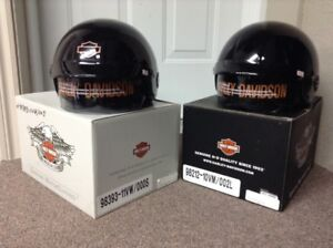 Casques (2),  Harley Davidson