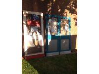 3 Heavy Duty standard size Shop Security Doors