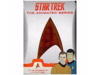 STAR TREK-ANIMATED SERIES - COMPLETE ADVENTURES - RARE ORIGINAL DVD SET (4 Discs)!