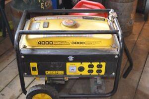 Generator - Champion 4000/3000W Gas