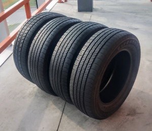 Set of four 195/65/15 all season tires. 6/32nd tread