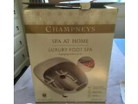 Champneys Spa At Home Luxury Foot Spa
