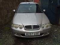 tdi rover 45 for spares