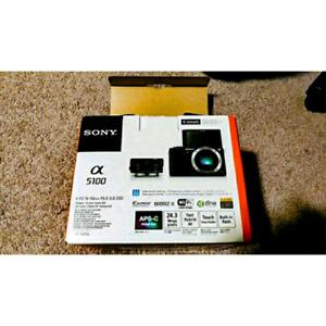 Sony A5100 24MP DSLR camera - body only