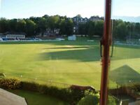 Fantastic 3 bedroom Apartment, Views of Cricket Ground, Private Parking