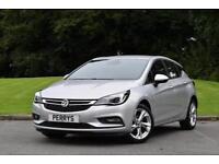 2016 Vauxhall Astra 1.4T 16V 150 SRi Nav 5 door Auto Petrol Hatchback